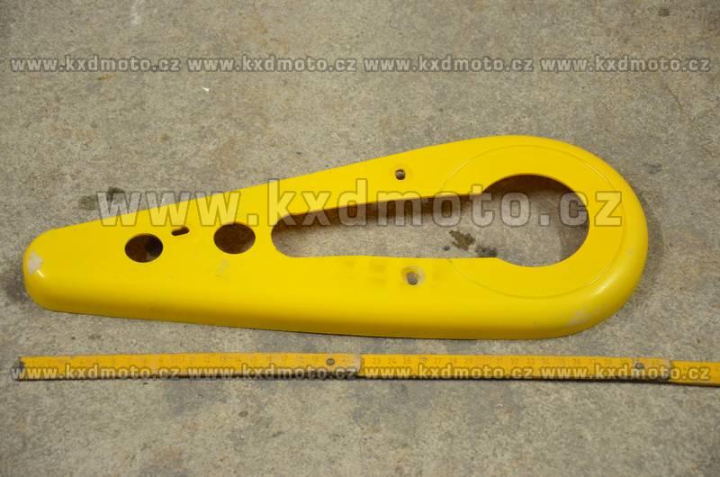 kryt řetězu minibike typ2 - žlutá