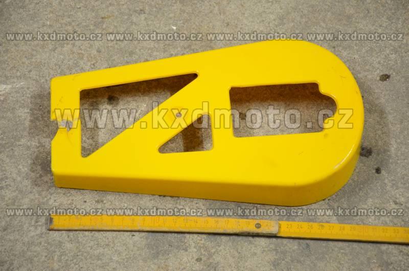 kryt řetězu minicross typ2 - žlutá