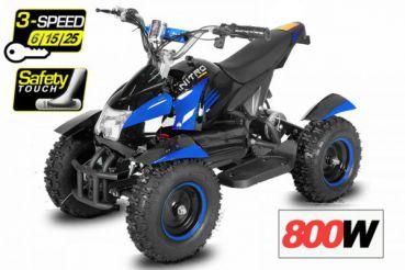 čtyřkolka Cobra Elektro 800W - modrá