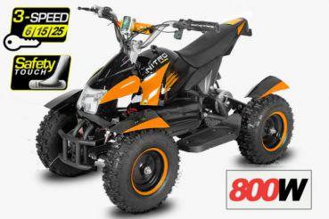 čtyřkolka Cobra Elektro 800W - oranžová