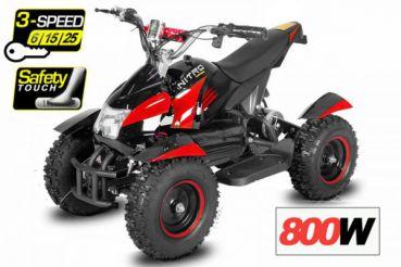 čtyřkolka Cobra Elektro 800W - červená