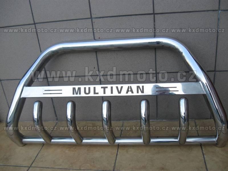 nerezový rám VW T5 MULTIVAN homologace