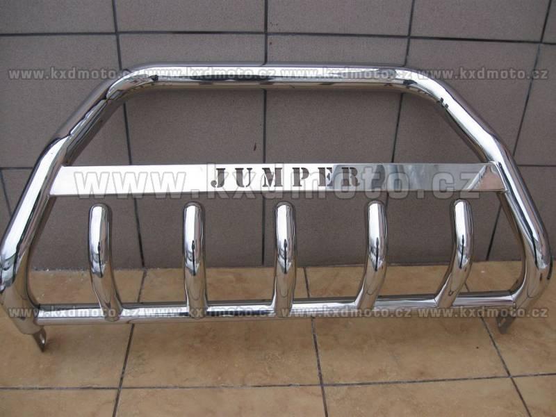 nerezový rám CITROEN JUMPER 2006- homologace