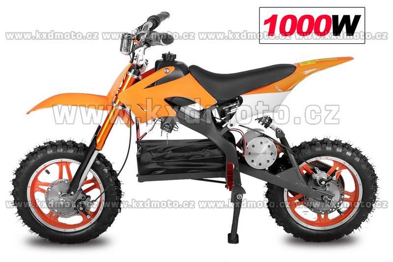 minicross apollo 1000W 10 kola - oranžová