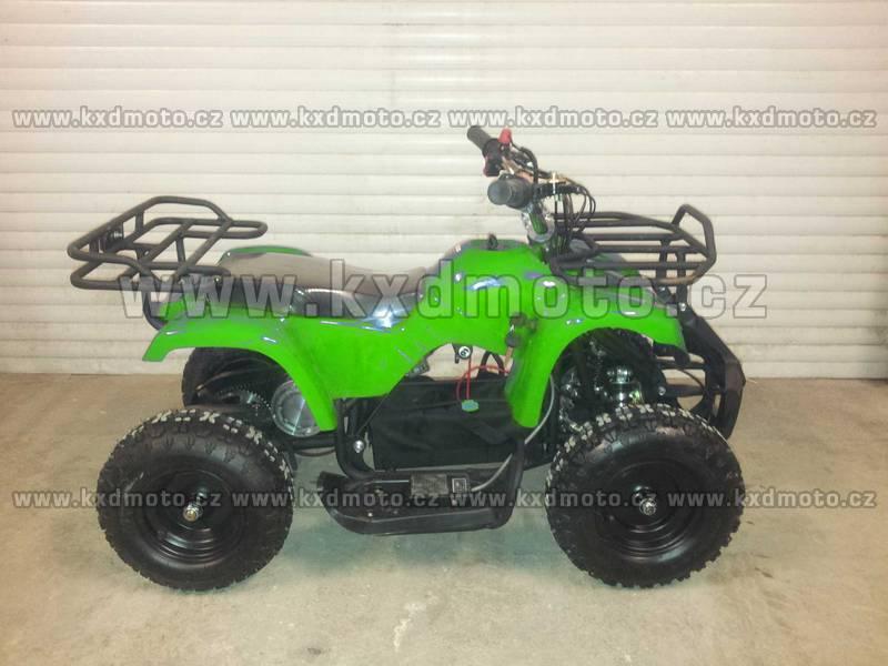 čtyřkolka Hammer Torino 800W 6kola - zelená