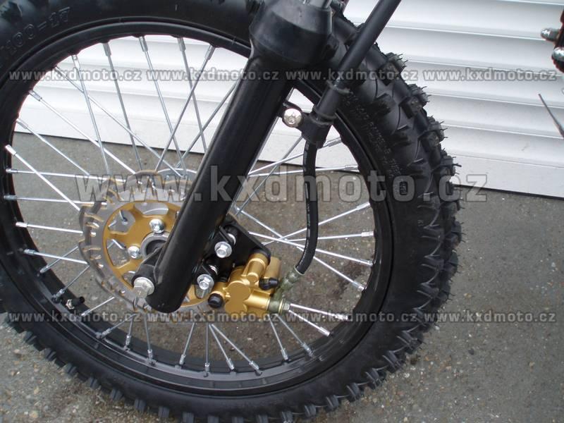 dirtbike 125ccm LONCIN 17/14 - zelená