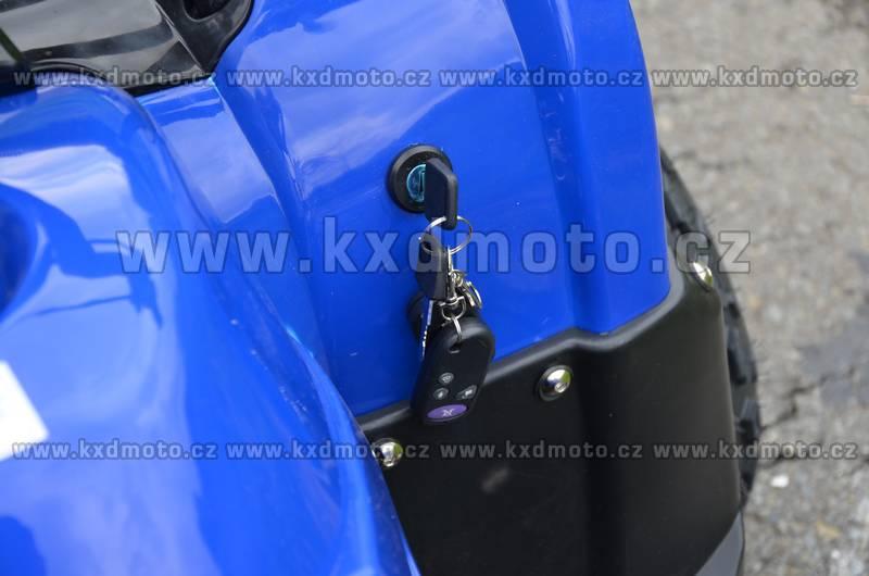 čtyřkolka atv Toronto 4T 125ccm 8 - modrá