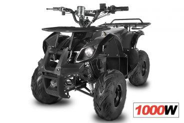 Nitro dětská elektrická čtyřkolka Hummer 1000W černá