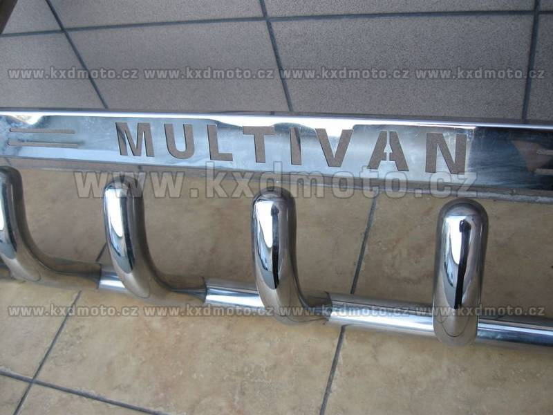 nerezový rám VW T4 MULTIVAN homologace