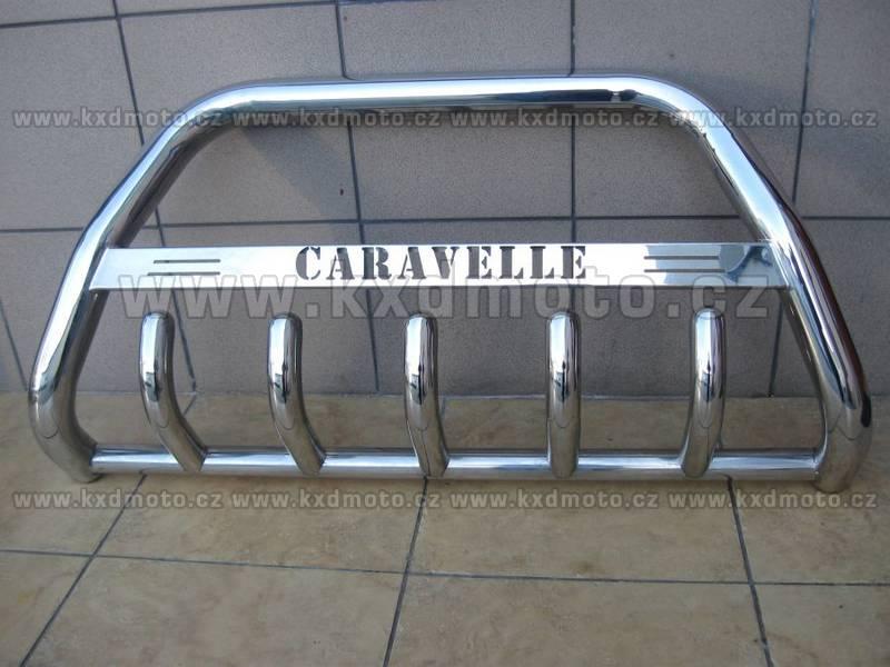 nerezový rám VW T5 CARAVELLE homologace