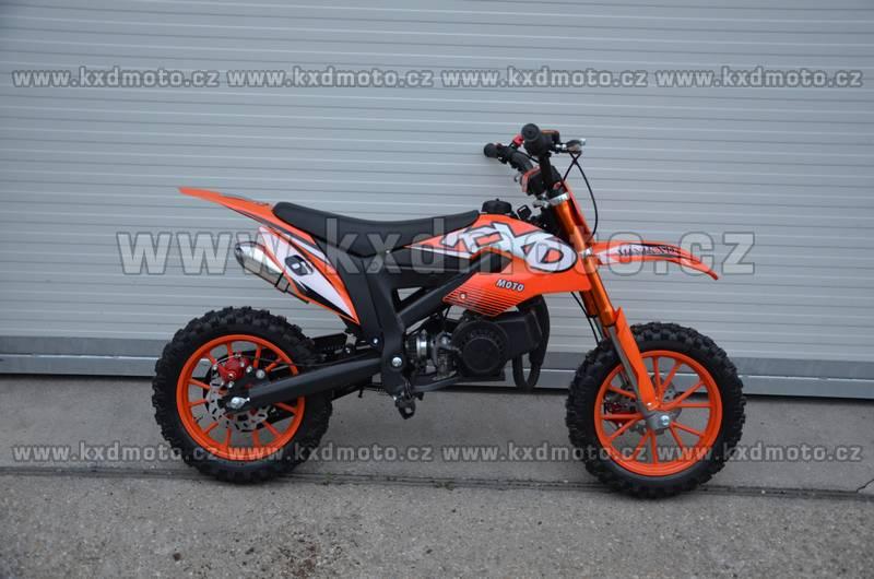 minicross KXD706 - oranžová