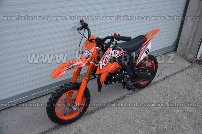minicross Flash 2S 49cc - modrá
