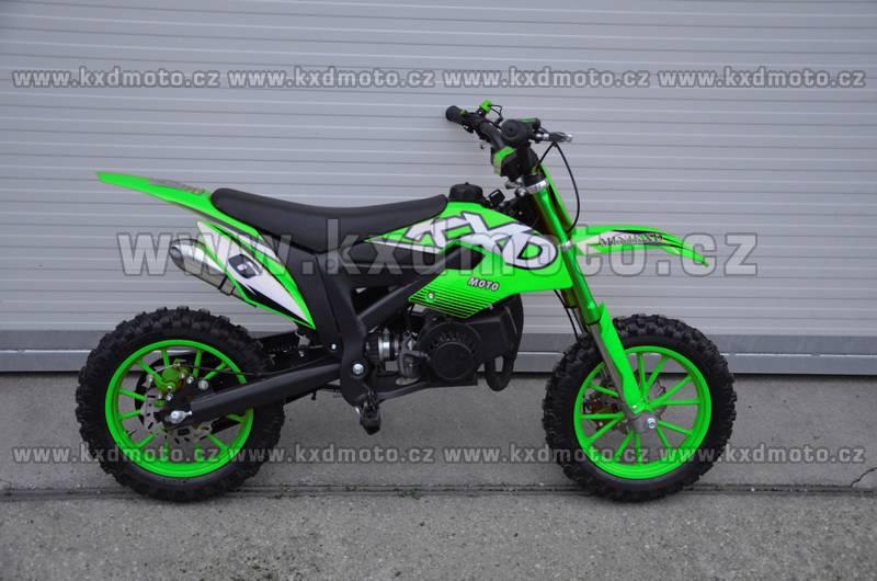 minicross KXD706 - zelená