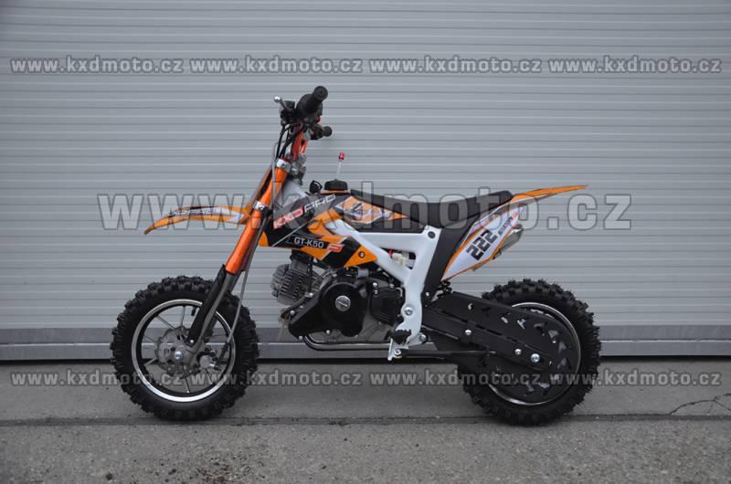 minicross KXD GT-K50 - oranžová
