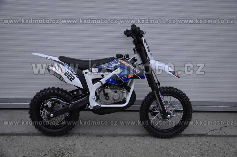 minicross NRG deluxe ráfky 12/10 - modrá