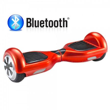 KOLONOŽKA hoverboard s bluetooth - červená - AKCE