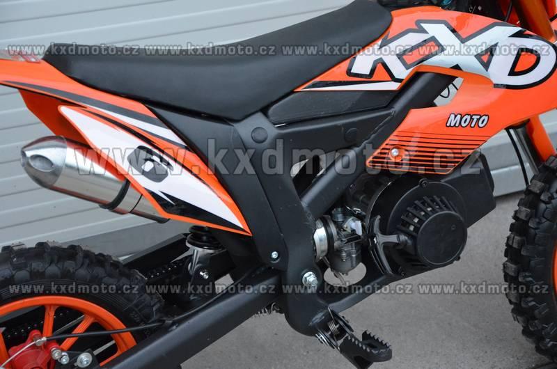 minicross Flash 2S 49cc - červená