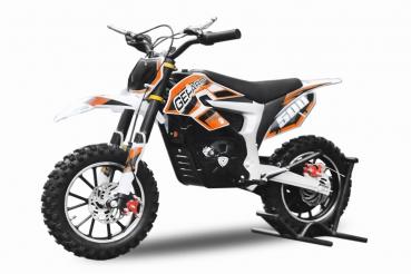 minicross eco Gepard 500W 10 kola - oranžová
