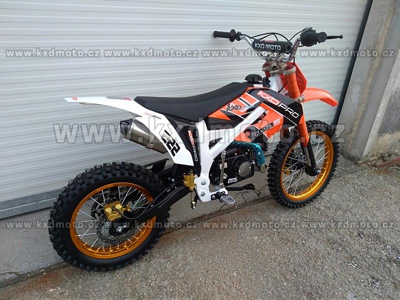 dirtbike GT-K125 edice KXDPRO 125ccm kola 17x14