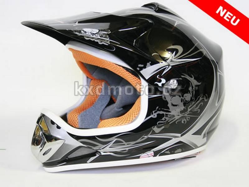 Dětská helma Xtreme - černá