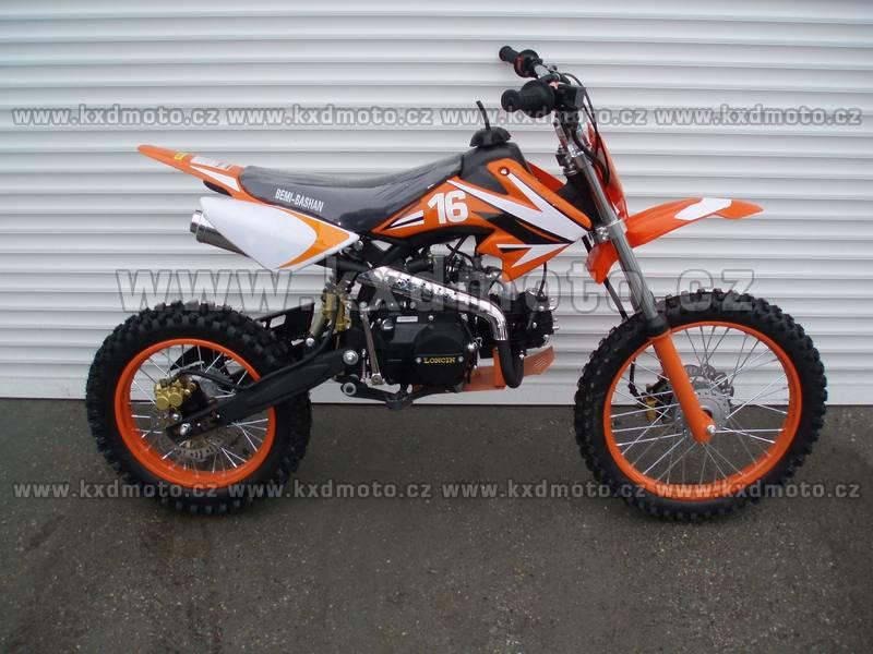 dirtbike 125ccm LONCIN 17/14 - oranžová