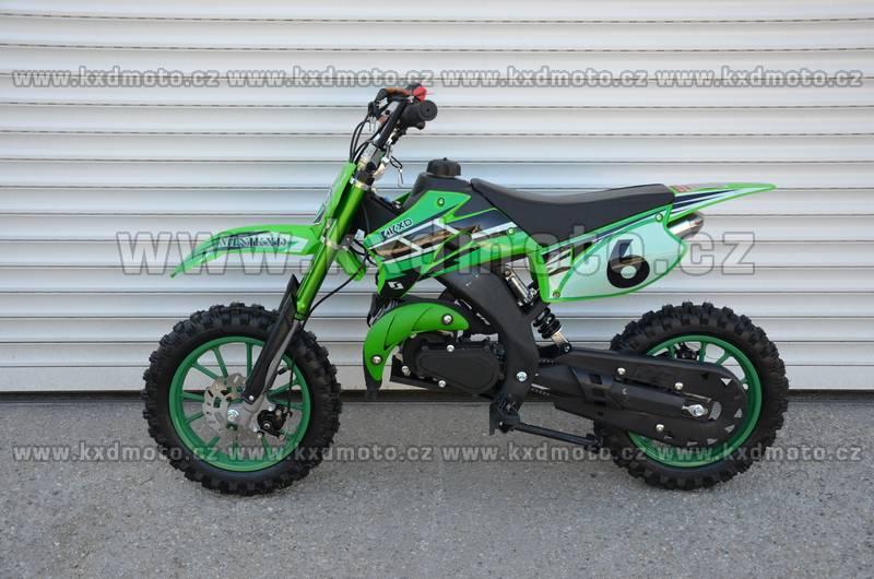 minicross KXD708 - zelená