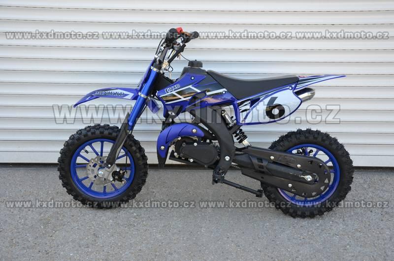 minicross KXD708 - modrá
