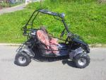 dětská buggy 125 ccm 4takt automat - oranžová